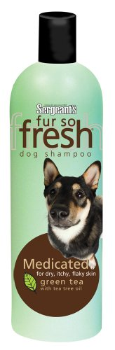 Sergeant's Fur-So-Fresh 21.8Ounce Medicated Dog Shampoo with Tea Tree Oil, My Pet Supplies