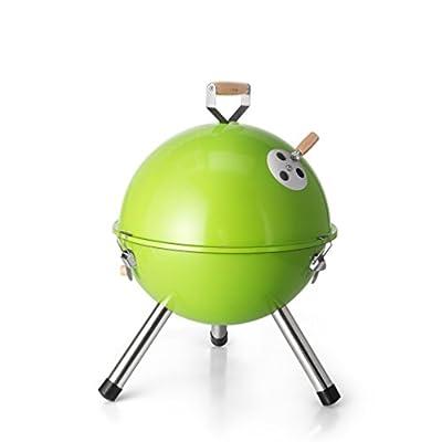 DE.KITCHEN&HIFUN 12-Inch Portable Grills,Mini Indoor Outdoor Tabletop Charcoal Grills,German Korean Small Couple Camping BBQ from DE.KITCHEN&HIFUN