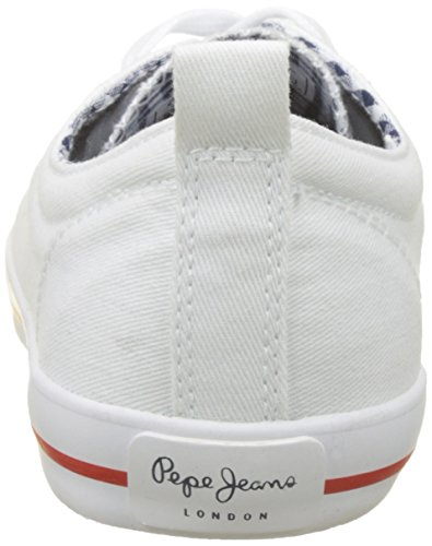 Pepe White Damen Jeans Bass Weiß Gery Sneaker qHvAcrSqwT