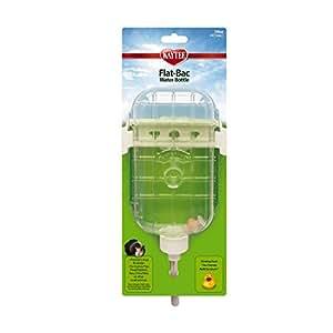 Kaytee Flat Bac Water Bottle, Guinea Pig/Chinchilla - 16 oz.