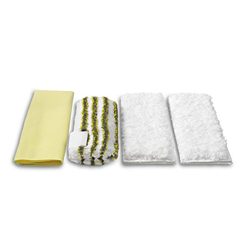 KARCHER Steam Cleaner for Microfiber Cloth set (for the bath) 2863171 (Best Multi Purpose Steam Cleaner Uk)