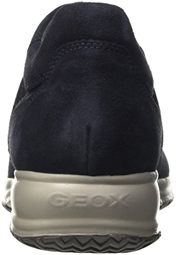 Geox U Happy Art H Scarpe Da Ginnastica Basse Uomo Blu navy