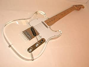 clear acrylic 6 string tl electric guitar musical instruments. Black Bedroom Furniture Sets. Home Design Ideas