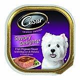Cesar Canine Cuisine Savory Delights Filet Mignon Flavor with Bacon & Potato