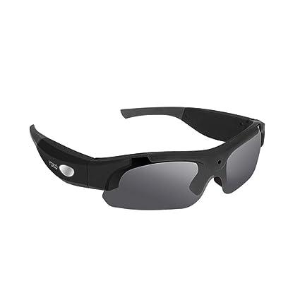 Xiaoqin Gafas de Sol Manos Libres HD 1080P Spy Video Gafas de Sol con Lente polarizada