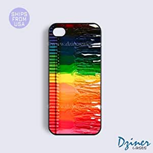 iPhone 5 5s Case - Colorful Crayons iPhone Cover