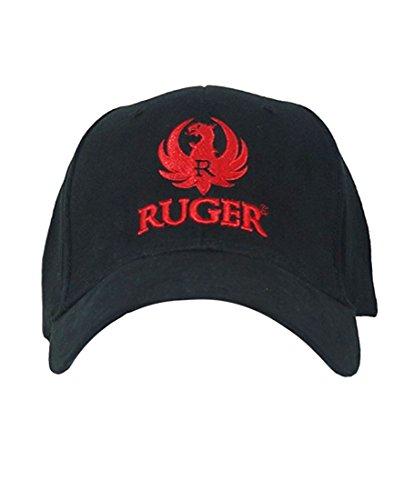 3d Logo Hat - RUGER Men's 3D Logo Fitted Hat L/XL Black