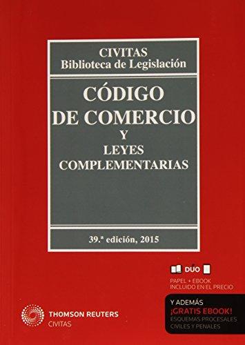 Descargar Libro Código De Comercio Y Leyes Complementarias Aa. Vv.