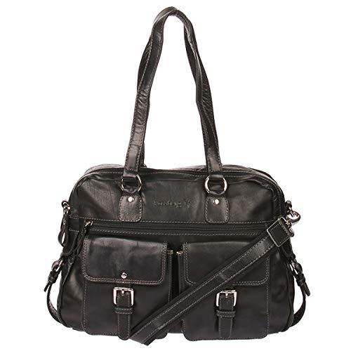 Kossberg, sac à main noir pour femme