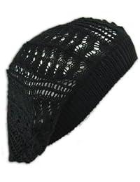 e939e3977d99f Crochet Beanie Hat Knit Beret Skull Cap Tam