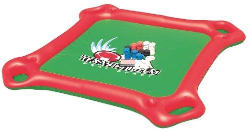 Amazon.com: Texas Holdu0027em Inflatable Pool Poker Set W/ Card Table, Floating  Lounge Chairs U0026 Poker Set: Toys U0026 Games