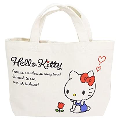 8ea2a300655 Image Unavailable. Image not available for. Color  K Company Sanrio Hello  Kitty Mini Tote Bag ...