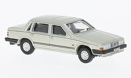 Model Cars Volvo 760 Gold Oxford Diecast 1//76
