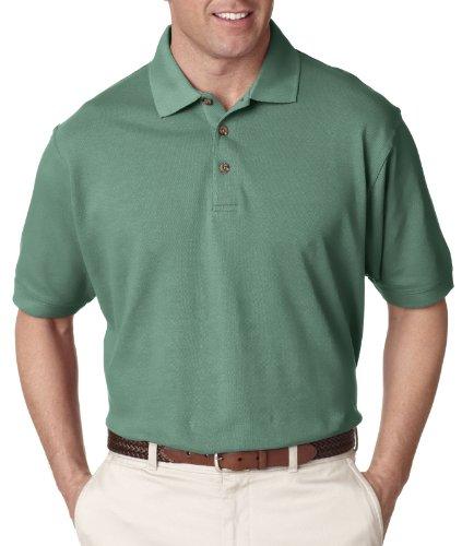 8530 Ultraclub Lady Polo (UltraClub Men's Classic Pique Polo Shirt - Leaf 8535 M)