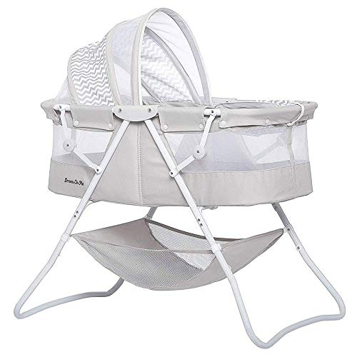 Dream On Me Karley Bassinet, Grey
