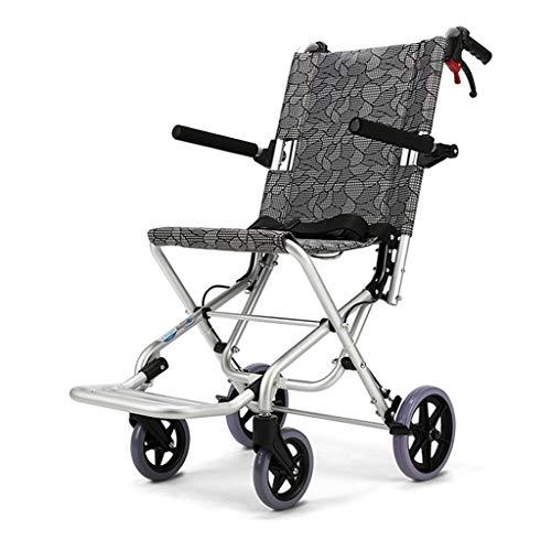 Sillas de ruedas Plegables carritos de bebé manuales ultraligeras Personas Mayores discapacitados: Amazon.es: Hogar