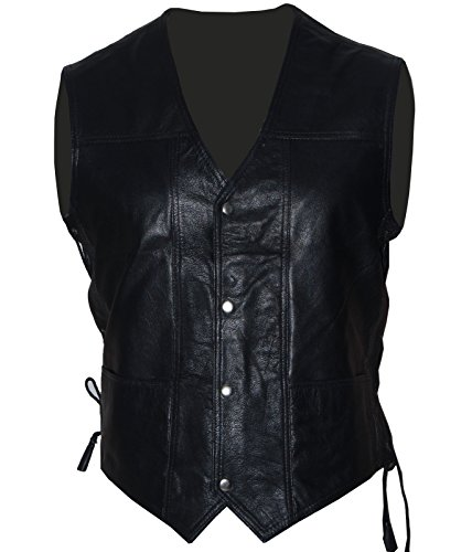 Areena Design Mens New Halloween Walking Dead Governor Daryl Dixon Angel Wings Vest Jacket (Black, Small)]()