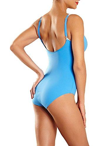 Chantelle Blue Nevada Swimsuit Nevada Chantelle Blue Ivory Swimsuit Ivory 4O40qr