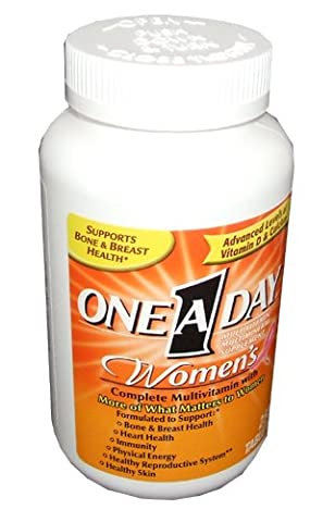 One-A-Day Women's Multivitamin, 250-Count Bottles (One A Day Bayer)