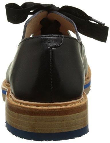 Ebony Ebony Albilla Nero Neosens Derby S926 Restored Scarpe Basse Skin Donna Stringate qHHFtxPw