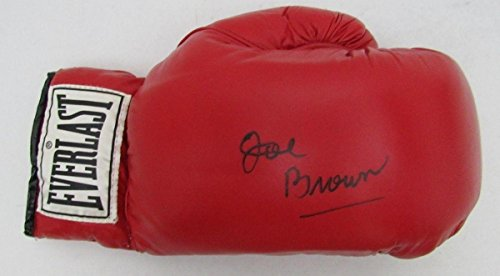 Joe E. Brown HOF d.1997 Rare Signed Everlast Boxing Glove R88874 - JSA Certified - NFL Autographed Miscellaneous Items (Autographed Photos Miscellaneous)