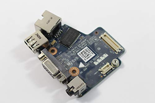 - Dell Latitude E6420 3258H Audio USB Ethernet VGA Board LS-6592P
