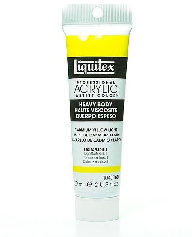 Liquitex Heavy Body Professional Artist Acrylic Colors (Cadmium Yellow Light) 1 pcs sku# 1830109MA