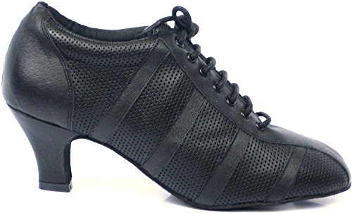 Vida Mia - Women's Dance Sneakers (Practice Shoes for Ballroom, Latin, Salsa, Argentine Tango (8 1/2 USA) Black (Best Argentine Tango Shoes)