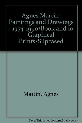 Descargar Libro : Paintings And Drawings : 1974-1990/book And 10 Graphical Prints/slipcased Agnes Martin
