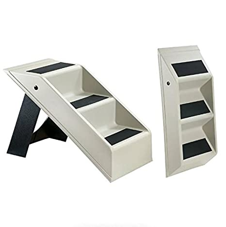 Superior Ideas In Life Dog Stairs For High Bed   Small Doggie Ramp Pet Steps For High