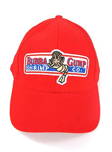 Sinastar Bubba Gump Hat Shrimp Co. Embroidered Forrest Gump Baseball Cap Adjustable