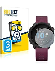 BROTECT Glas Screenprotector compatibel met Garmin Forerunner 245/245 Music / 45 (3 Stuks) - Beschermglas met 9H hardheid