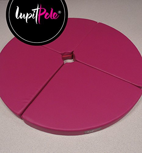 LUPIT MAT ''STANDARD'' PINK 12cm (4.72in) FOR POLE DANCING POLE by LUPIT POLE