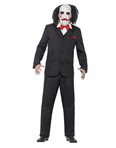Saw Costume, Mens Saw Jigsaw Puppet Outfit, Medium, CHEST 38 - 40 by WAS (Jig Saw Costume)