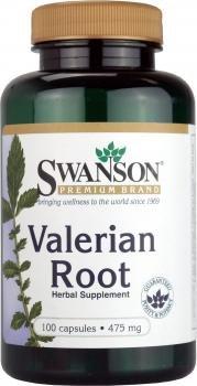 Valerian Root 475 mg 100 Caps - Swanson Premium