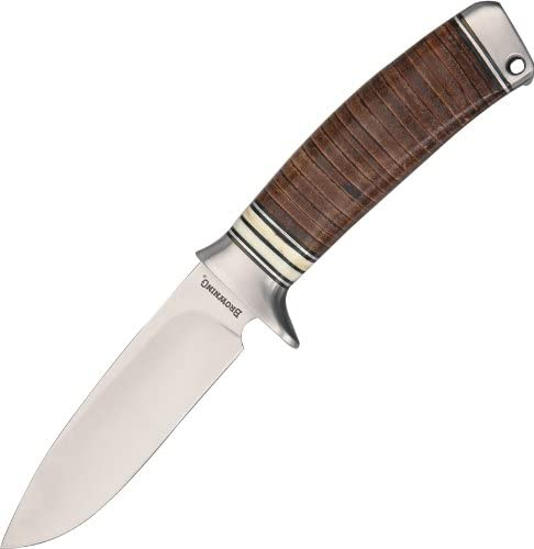 Browning BR814-BRK Stacked Leather Fixed Blade