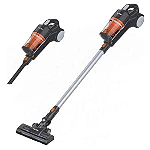 Mliter Vacuum Cleaner Portable Rechargeable Lightweight Cordless Stick Handheld 2 in 1 Lithium-ion Vacuum Cleaner with HEPA Filtration, Cyclone Suction, Crevice Tool and Brush Accessories(7000Pa)