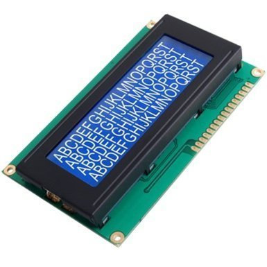 ESUMIC LCD Module for Arduino 20 x 4, White on Blue, based on the popular HD44780 controller