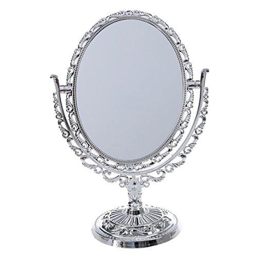 Vanity mirror - Goodaa(R) SILVER VANITY MAKE UP COSMETIC TABLE BATHROOM MIRROR -
