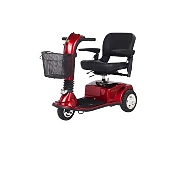 Companion Full Size 3-Wheel Scooter- Red