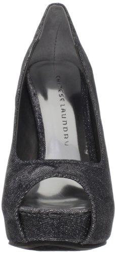 Chinese Laundry High Class, Scarpe col tacco donna Argento Pewter