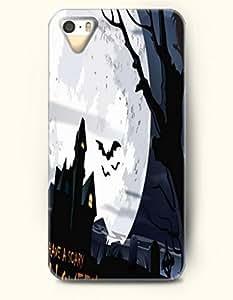 diy phone caseSevenArc iPhone 5 5s Case - Happy Halloween Black Castle And Bat White Moondiy phone case