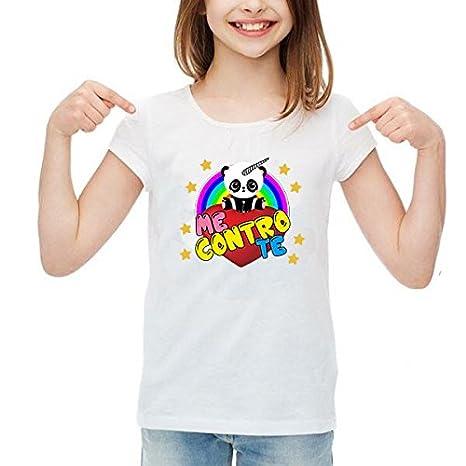 Bambina Shirt Bambino Panda Me Donna Spotapplick T Uomo Maglia txQrshCd