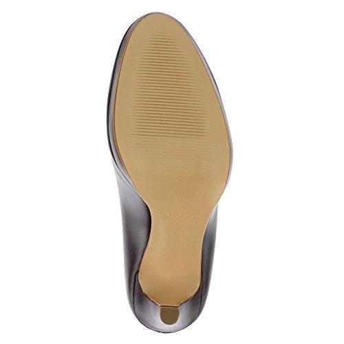 Dunkelbraun Scarpe Donna Cristina Col Shoes Tacco Evita w40TY1x