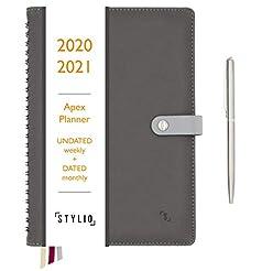 STYLIO Apex Planner 2020/2021 Undated We...