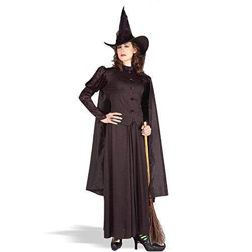 Forum Novelties Women's Classic Witch Costume, Black, (Mcgonagall Costume)