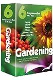 6 Pack: Gardening (including Autumn, Winter, Spring,  Summer, Gardener's Diary, Fingertip's Fruit & Veg [DVD]