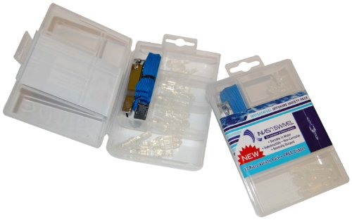 InvisaSwivel Offshore Variety Kit, Clear, Small (12pcs)