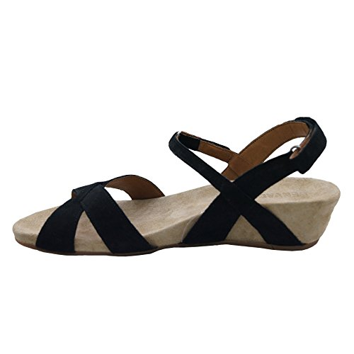 BENVADO shoes sandals 280041400 Black WHITE PURPLE BBaxwCOq