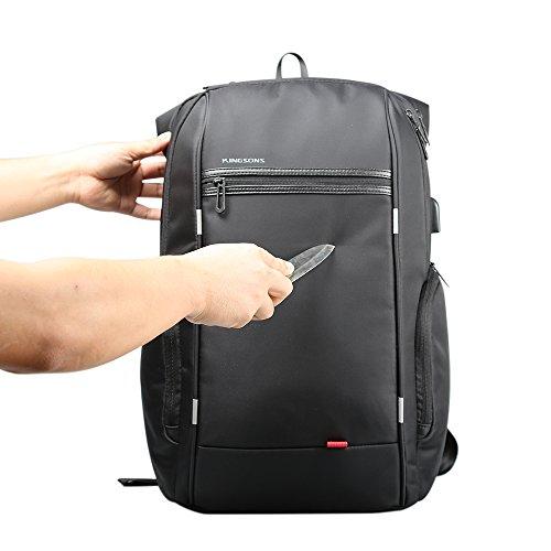 Lixada Professioneller Rucksack Multifunktions Business Bag Lade Laptop Rucksack Reisetasche. 15.6in rlfK6nVR